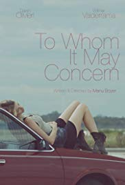 To Whom It May Concern (2015)