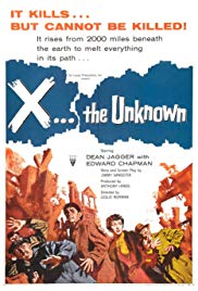 X the Unknown (1956)